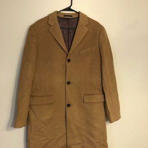 J Crew Ludlow topcoat Italian Wool Cashmere